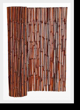 Mahogany Bamboo Fencing Image
