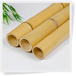 Natural Bamboo Poles Image