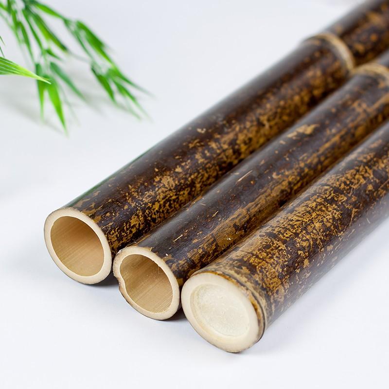 Natural Black Bamboo Poles