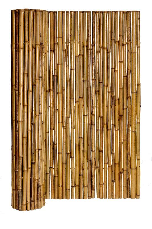 bonized Bamboo Fencing