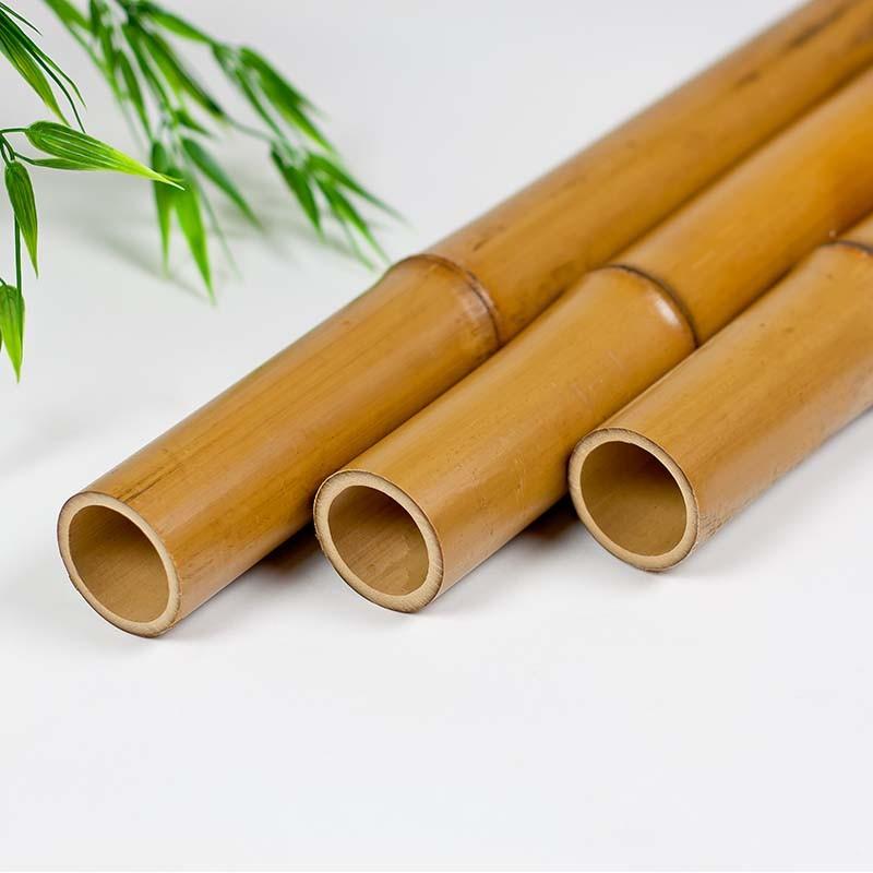Carbonized Bamboo Poles