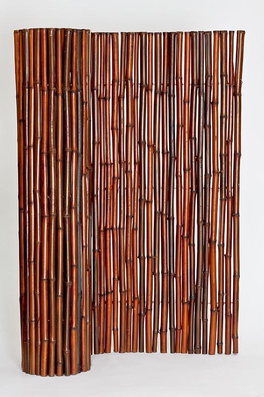 Mahogany Bamboo Fencing