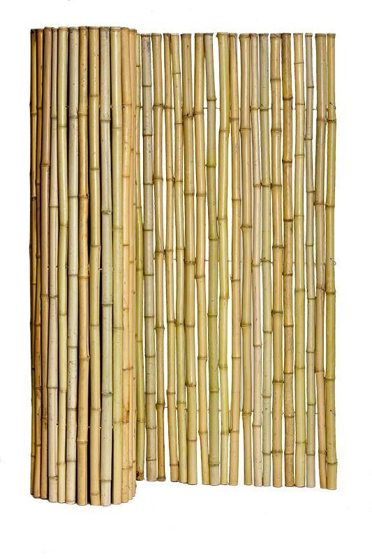 Natural Bamboo Fence Panels