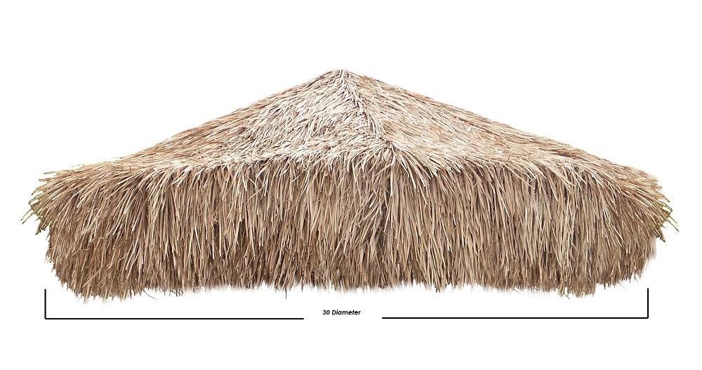 30 inch Diameter Thatch Umbrella Cover