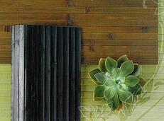Bamboo Paneling