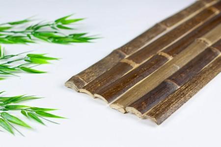 Natural Black Bamboo Slats