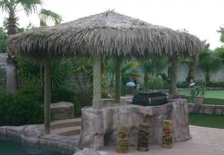 Four Pole Tiki Hut