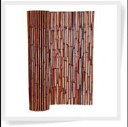 """Bamboo Fence Mahogany 1"""" x 6' x 8'"""