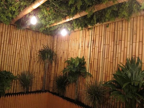 Ordinaire ... Natural Bamboo Patio Enclosure · Bamboo Fencing ...