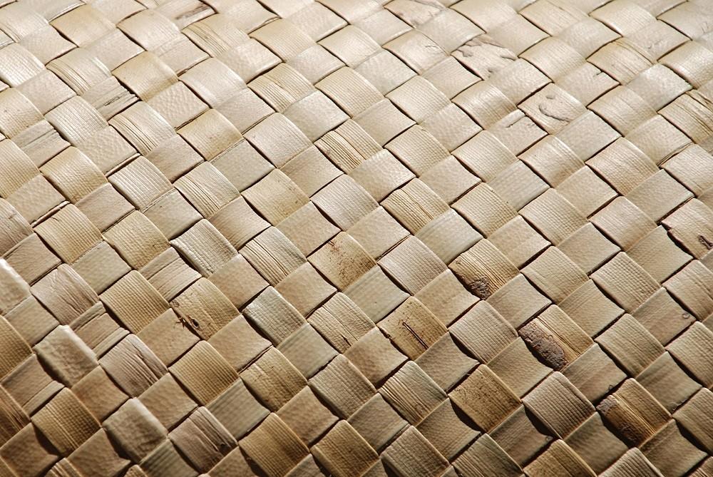 Fine Weave Lauhala Matting 4 X 8 Sunset Bamboo